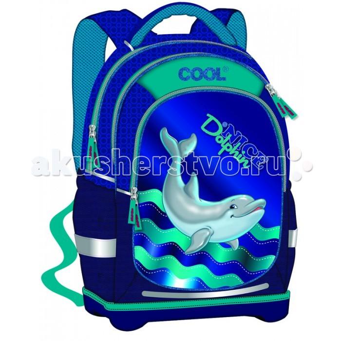Target Collection Рюкзак супер лёгкий Дельфины №1Рюкзак супер лёгкий Дельфины №1Рюкзак супер лёгкий Дельфины №1 имеет яркий рисунок и изготовлен из современных, прочных материалов.   Техническими особенностями рюкзака (портфелей) «Target Collection» является система «Flexiball» (поясничная поддержка), которая оптимально адаптирована для ребенка.  Ведь самое главное, чтобы ребенок имел правильную осанку во время переноски портфеля. Система «Flexiball» является новшеством в промышленности, она правильно распределяет вес мешка, автоматически подстраивается под ребенка и поэтому обеспечивает идеальное положение для поясничной поддержки. Во время прогулки, система «Flexiball» движется вместе с ребенком, за счет гибкого материала уменьшает нагрузку при ходьбе.   Портфель имеет форму куба, пригодную для учащихся начальных классов. Плечевые лямки можно отрегулировать для каждого ребенка индивидуально, поэтому получается что он «растет» вместе с ребенком. Лямки содержат вентиляционные отверстия и тем самым имеют возможность дышать. Они дополнительно оснащены  ЭКО-пеной, которая делает ношение портфеля более комфортным для ребёнка.   Рюкзак содержит 2 больших отделения, закрывающегося на молнию. На лицевой стороне рюкзака расположен большой накладной карман на молнии, а по бокам рюкзака два кармана на резинке.    Светоотражающий материал присутствует на передней, боковой и задней части рюкзака, что позволяет сделать вашего ребенка более заметным, а так же обезопасить его не только днем, но и ночью. При создании данной модели  используются улучшенные материалы (3D), которые имеют свойство «дышать». Благодаря этим материалам воздух циркулирует, и следовательно, спина  ребёнка не будет потеть.   Дополнительно, имеется грудное крепление-стяжка для фиксации на плечах и поясничное крепление для фиксации на поясе ребенка, они установлены так, чтобы порфель самыми оптимальным образом сидел на на теле ребенка. Правильно используя ремни, вес портфеля распределяется следующим образом: 5