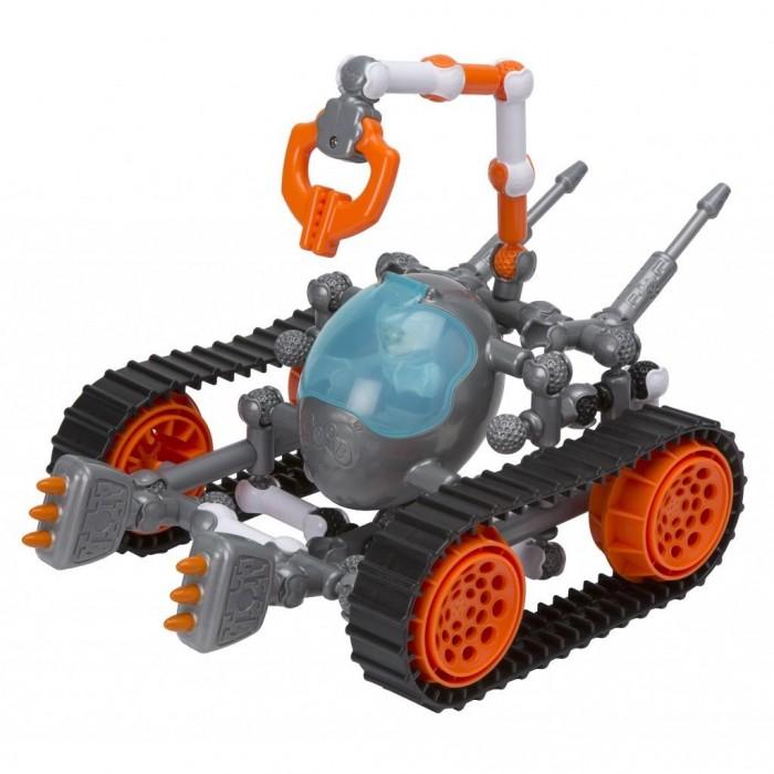 Конструктор Zoob Galaxy Z Astrotech Rover 63 элементаGalaxy Z Astrotech Rover 63 элементаZoob Конструктор Galaxy Z Astrotech Rover 63 элемента 16020  Z AstroTech Rover ZOOB - это набор, в котором вам предстоит собрать свою космическую машину для исследования инопланетных ландшафтов. В наборе имеется космонавт, которого можно посадить в специальную кабину для пилота. Выбирайте один из четырех вариантов машин, конструируйте и отправляйтесь в путешествие на поверхности далеких планет!  В наборе: - 49 элементов ZOOB; - 2 лазера; - 2 крыла; - 2 пусковых установки; - 1 кабина; - 1 купол; - 2 трека; - 1 коготь; - 1 платформа; - 1 космонавт в шлеме.  Размер детали: 6 см.<br>
