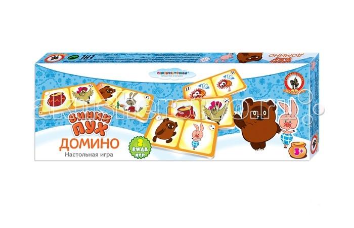 Игры для малышей Русский стиль Домино Союзмультфильм Винни-пух домино макси винни пух стелла
