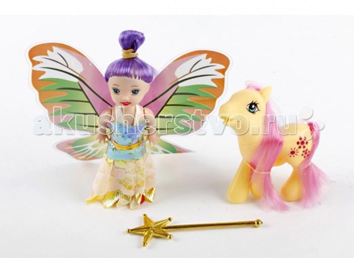 Куклы и одежда для кукол Daisy Кукольный набор Фея с пони куклы и одежда для кукол gulliver фея 35 см