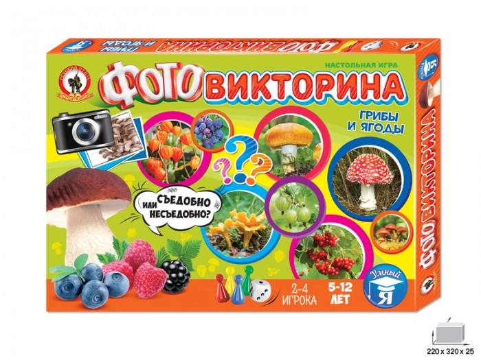 Настольные игры Русский стиль Игра настольная Фотовикторина Грибы и ягоды настольная игра стиль жизни доббль ут000001805