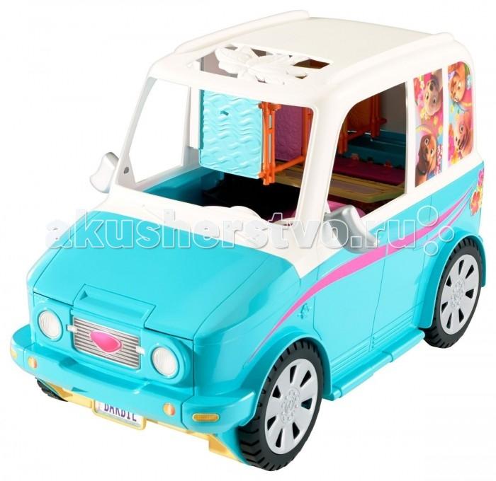 Фото #1: Barbie Раскладной фургон для щенков