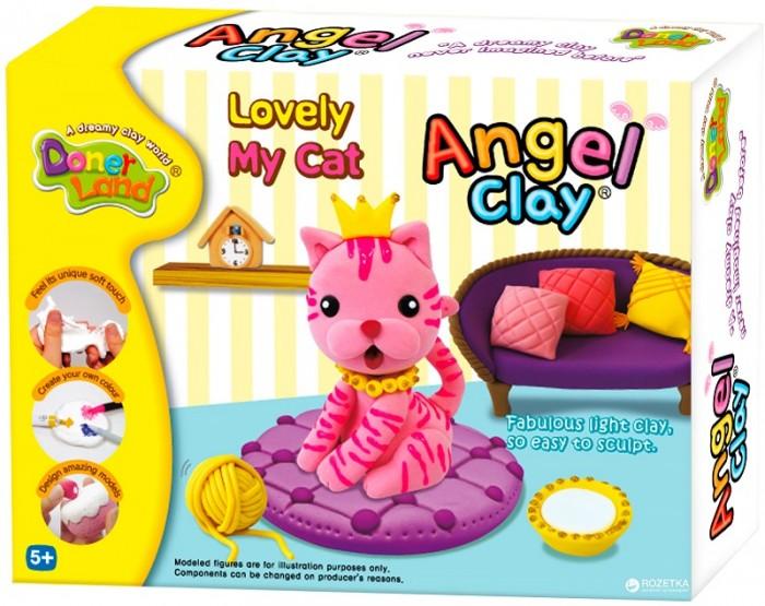 Всё для лепки Angel Clay Масса для лепки Lovely my cat clay craft