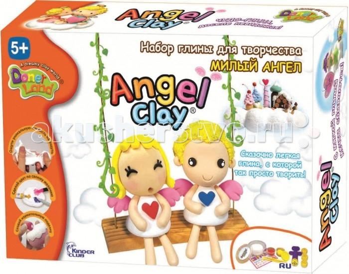 Всё для лепки Angel Clay Масса для лепки Милый ангел набор для лепки donerland angel clay funny safari aa14021