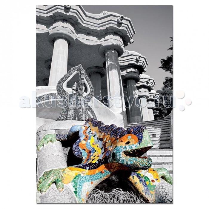 Пазлы Educa Пазл Парк Гуэль Барселона 500 деталей пазл для раскрашивания арт терапия царь зверей origami 360 деталей