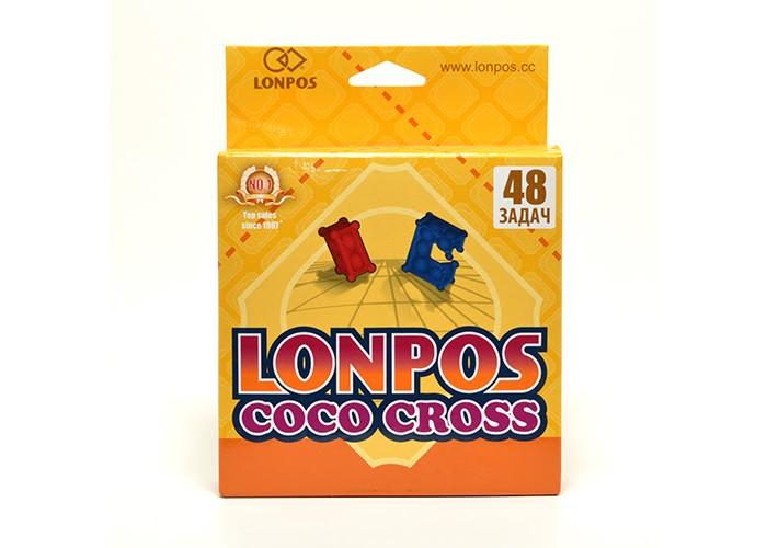 Игры для школьников Lonpos Головоломка Coco Cross 48 задач, Игры для школьников - артикул:234751