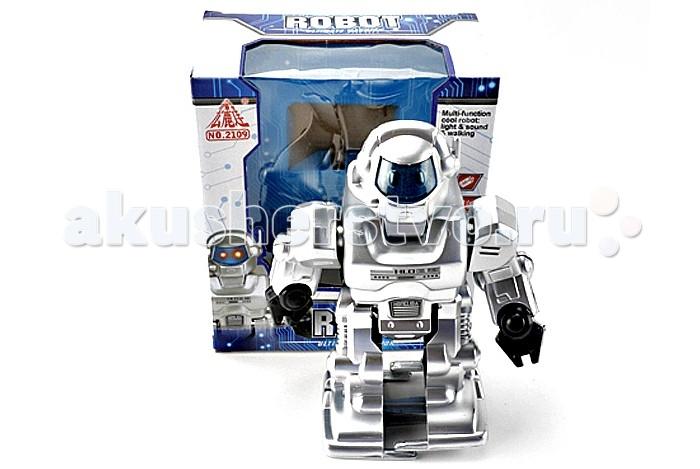 интерактивные игрушки veld co робот горилла Электронные игрушки Veld CO Робот электронный со светом и звуком 41639