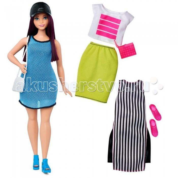 Куклы и одежда для кукол Barbie Кукла Барби в черной кепке с набором одежды куклы barbie кукла барби fashionistas эволюция барби с набором одежды