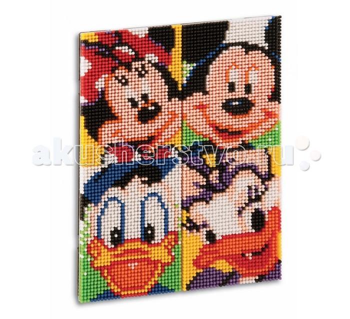 Мозаика Quercetti Мозаика пиксельная Микки и его друзья