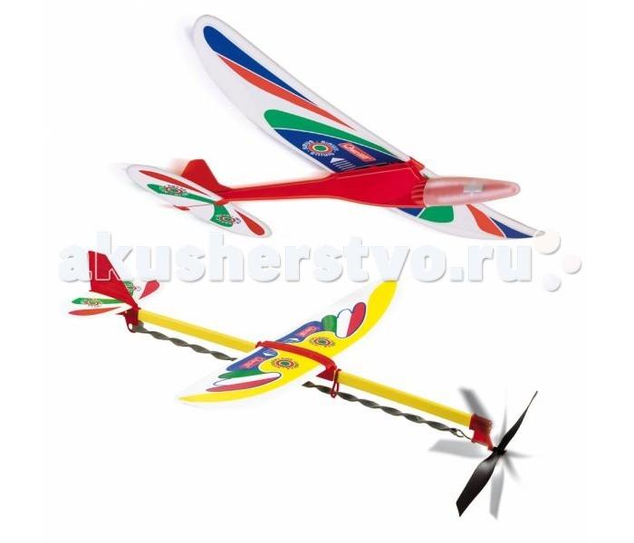 Вертолеты и самолеты Quercetti Набор из 2-х летательных аппаратов Сириус и Либелла quercetti развивающие игры