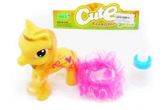 Игровые наборы Veld CO Пони с аксессуарами 25771 мягкие игрушки veld co веселая зверюшка