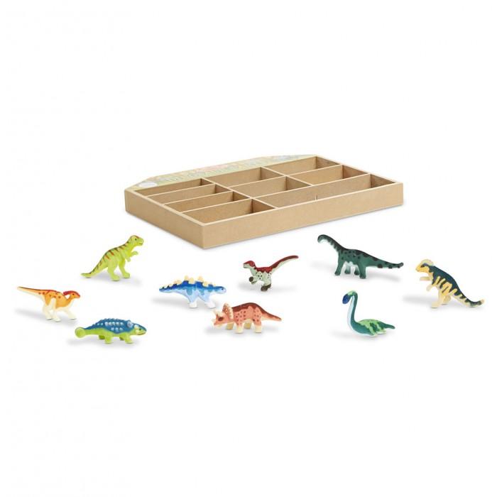 Игровые наборы Melissa & Doug Коллекционный набор Динозавры игровые наборы tomy набор поезд динозавров тайни с вагончиком