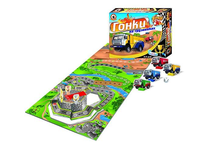 Настольные игры Русский стиль Игра настольная 3D Гонки на грузовиках настольные игры стеллар настольная игра гонки на выживание