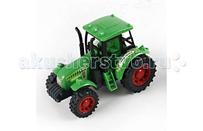 Машины Veld CO Трактор инертный 41628 игрушки для зимы veld co трактор c каской и лопатой 47047