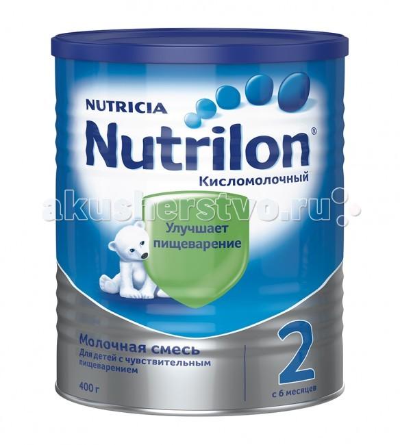 Молочные смеси Nutrilon Заменитель Кисломолочный 2 с 6 месяцев 400 г молочная смесь semper bifidus 1 с рождения 400 г