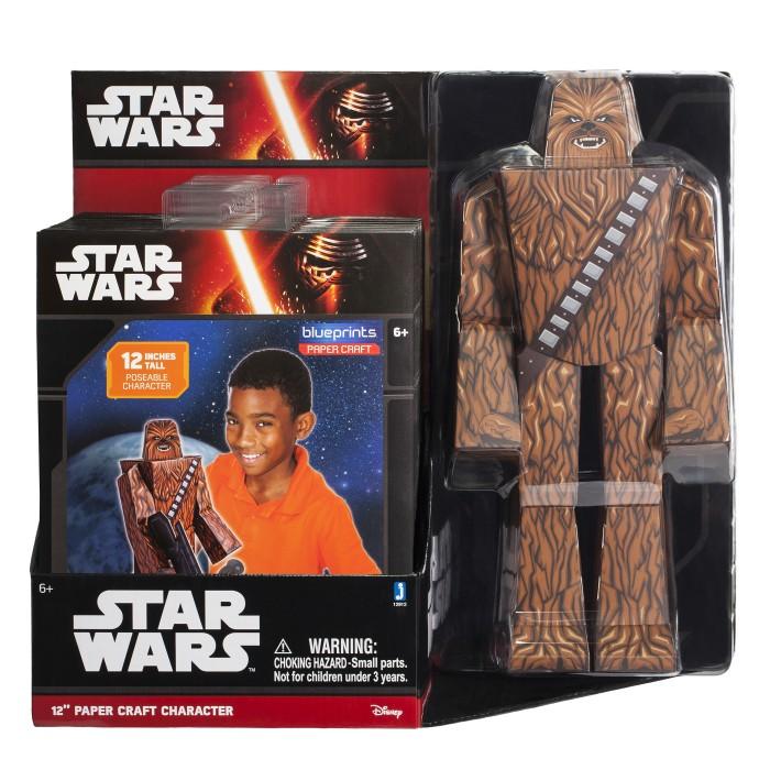 Конструкторы Star Wars из бумаги Chewbacca