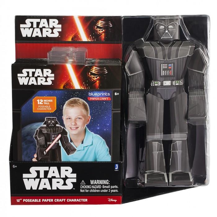 Конструкторы Star Wars из бумаги Darth Vader