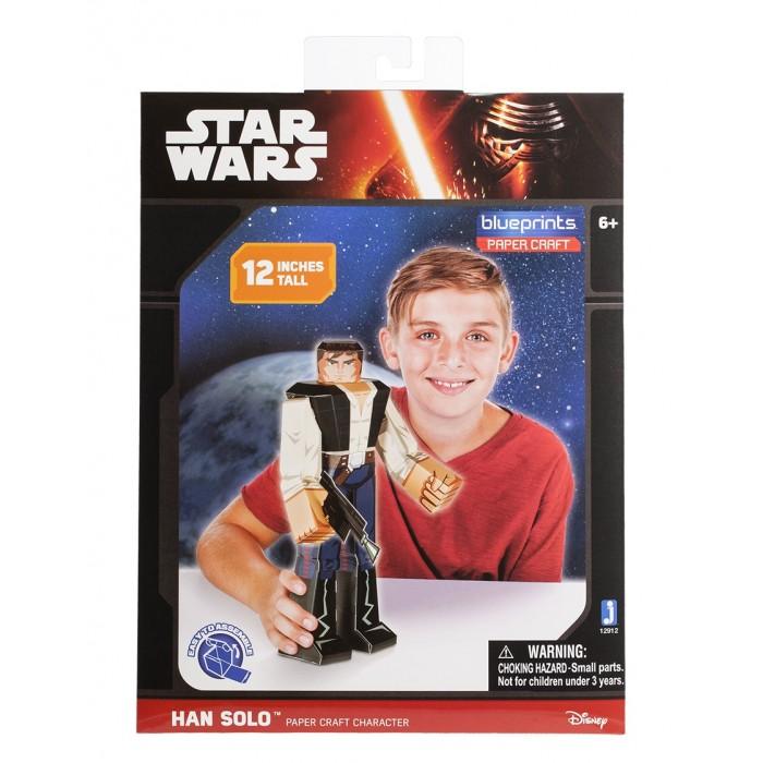 Конструкторы Star Wars из бумаги Han Solo