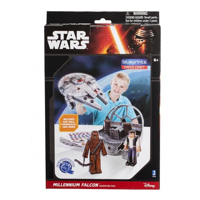 Конструкторы Star Wars из бумаги Millenium Falcon