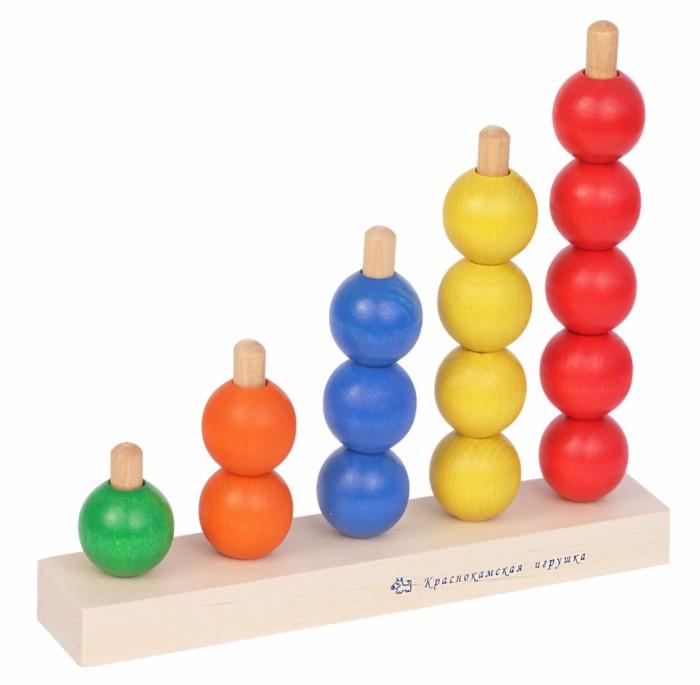 Деревянные игрушки Краснокамская игрушка Пирамидка Радуга деревянные игрушки краснокамская игрушка пирамидка кольцевая новая