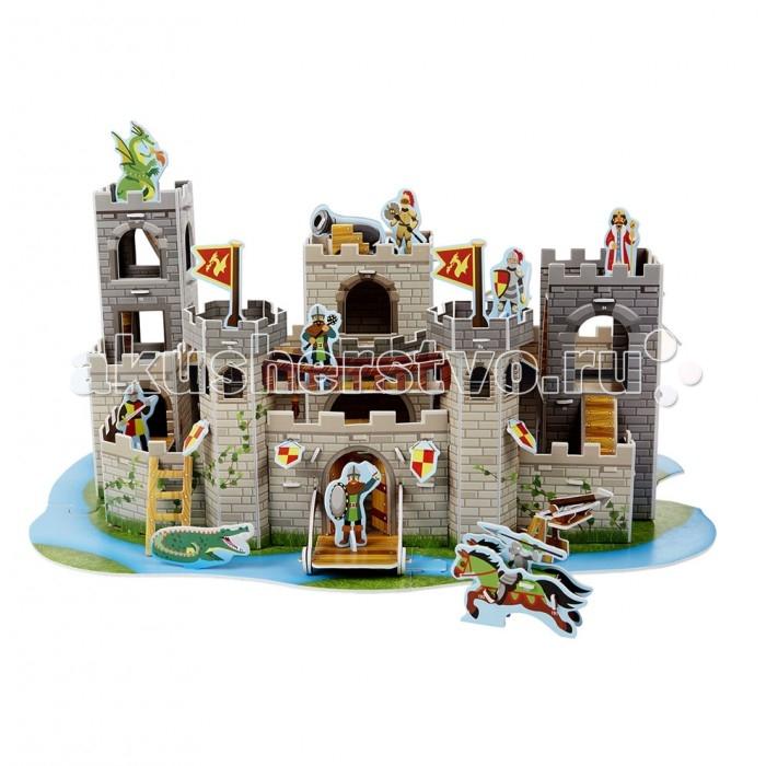 Конструктор Melissa & Doug 3D пазл Рыцарский замок