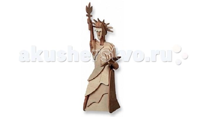 Конструкторы Education Line 3D Деревянные Пазлы Достопримечательности Статуя Свободы