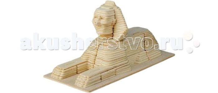 Конструкторы Education Line 3D Деревянные Пазлы Достопримечательности Сфинкс 154 элемента пазлы бомик пазлы книжка репка