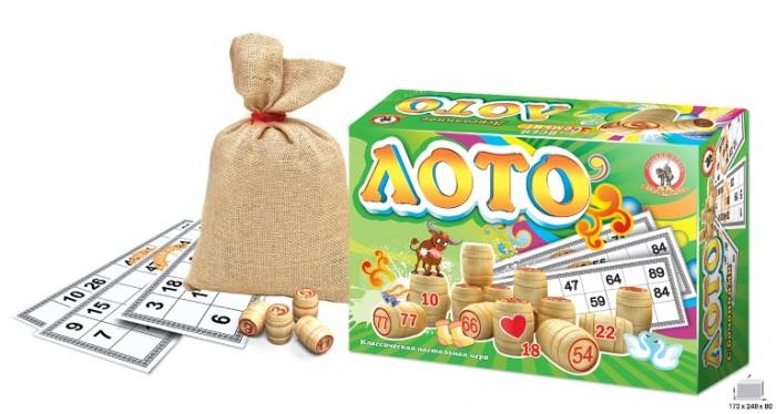 Деревянные игрушки Русский стиль Лото деревянное 02003 русский стиль лото дерев русский стиль арт 02001 р15983