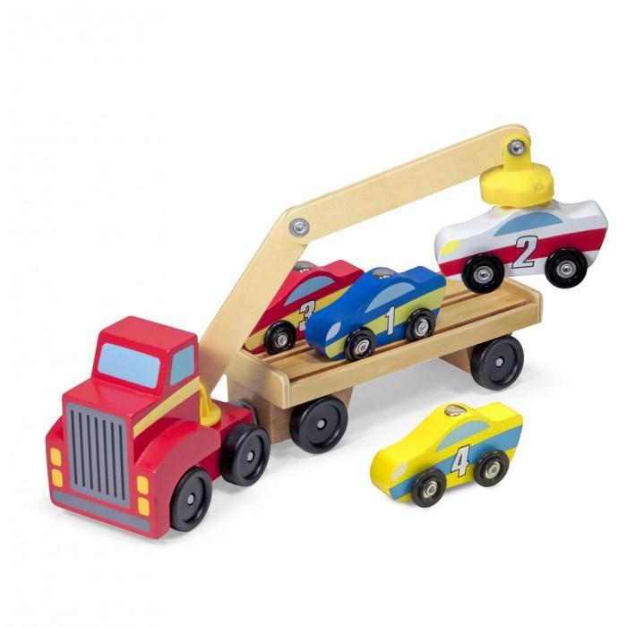 Машины Melissa & Doug Магнитная машинка Автокран машинки toystate машинка toystate