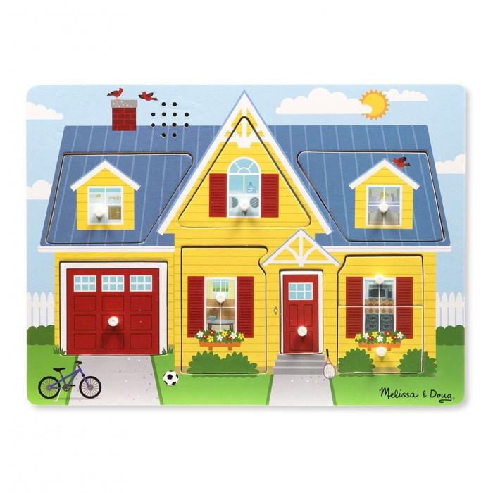 Пазлы Melissa & Doug Пазл со звуком Мой дом мой дом на колесах
