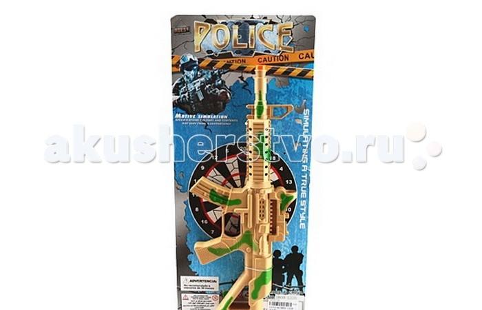 Игрушечное оружие Veld CO Детский Автомат 38 см блистер 40036