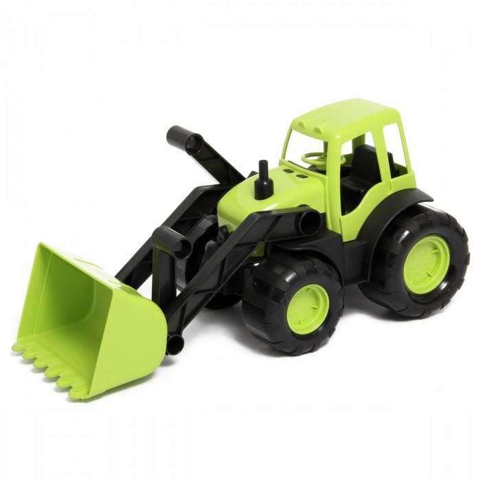 Машины Veld CO Трактор с ковшом в коробке 47071 трактор tomy john deere зеленый 19 см с большими колесами звук свет