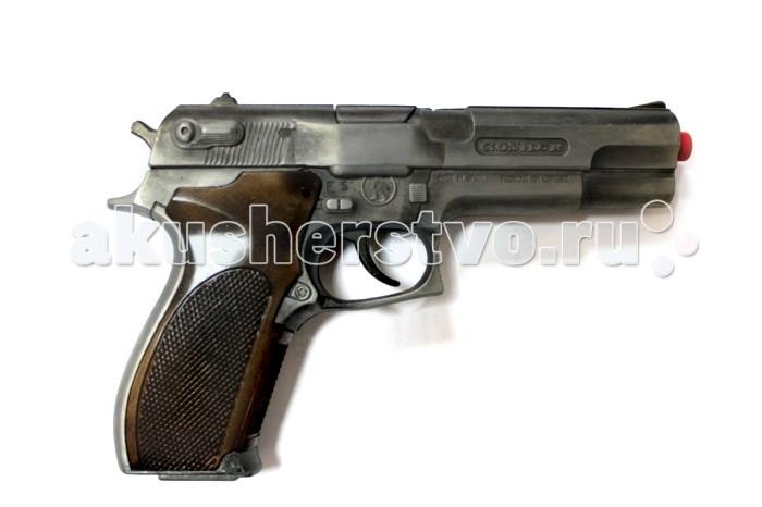 Игрушечное оружие Gonher Игрушечное оружие Полицейский пистолет на 8 пистонов