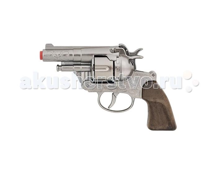 Игрушечное оружие Gonher Игрушечное оружие Револьвер Police на 12 пистонов