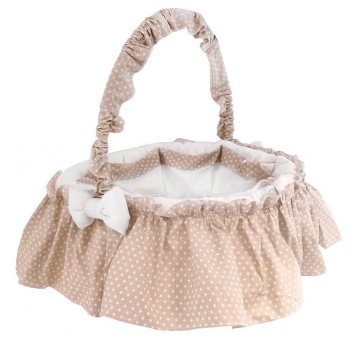 Ящики для игрушек Italbaby Плетеная корзина круглая Sweet Star корзина для переноски italbaby peluche крем 230 0007 6