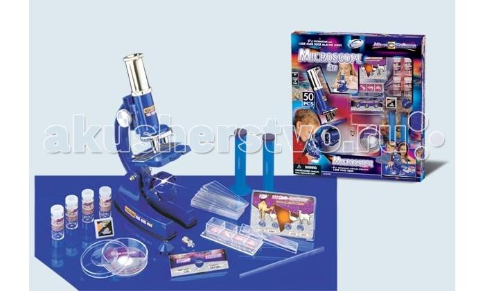 Наборы для творчества Eastcolight Набор с Микроскопом 50 элементов eastcolight micro science mp 450 blue микроскоп