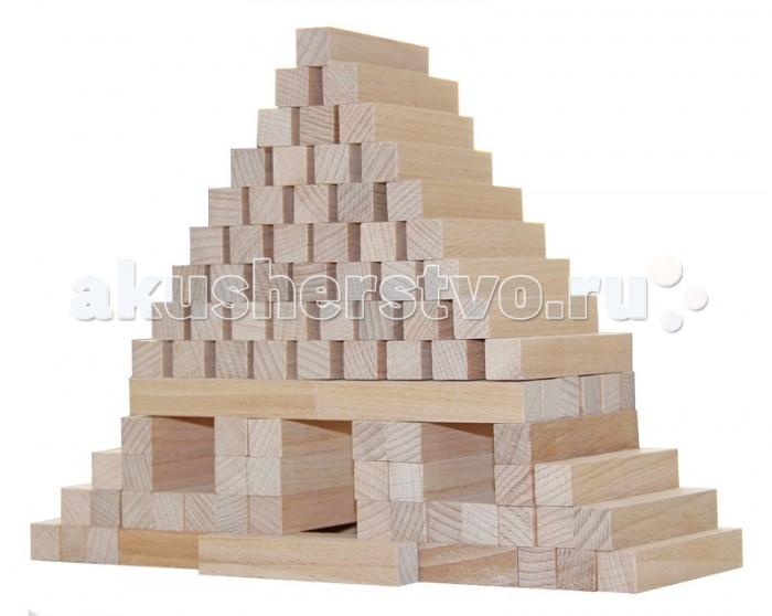 Деревянные игрушки Краснокамская игрушка Юниор 96 деталей конструктор краснокамская игрушка юниор