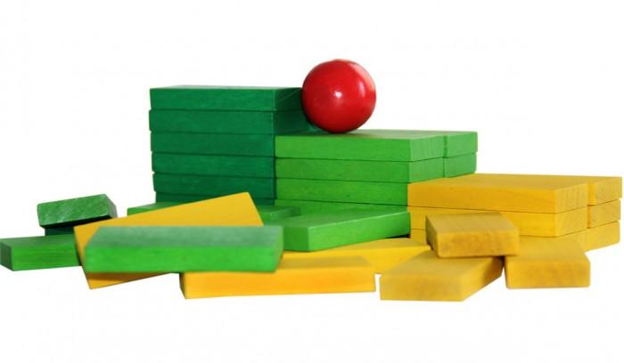 Конструкторы Краснокамская игрушка Эффект домино 120 деталей краснокамская игрушка краснокамская игрушка конструктор эффект домино