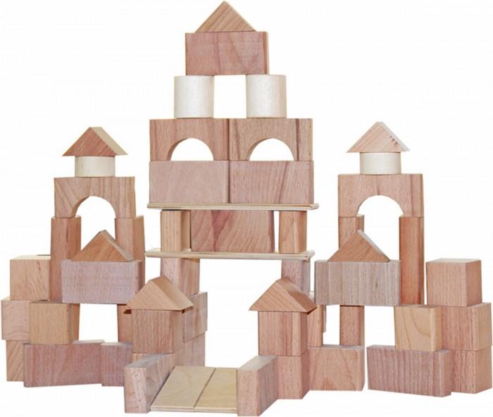 Деревянные игрушки Краснокамская игрушка Строим сами неокрашенный