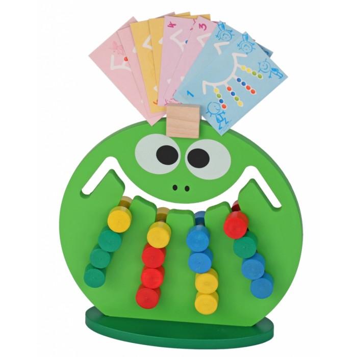 Деревянные игрушки Краснокамская игрушка Логическая игра Лягушка логическая игрушка краснокамская игрушка ли 01 лягушка