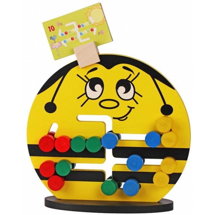 Деревянная игрушка Краснокамская игрушка Логическая игра Пчёлка