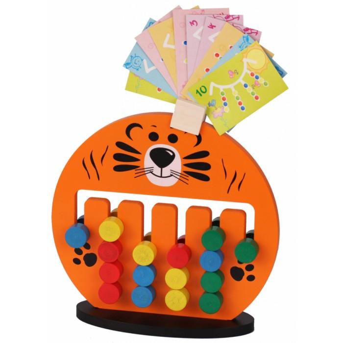 Деревянная игрушка Краснокамская игрушка Логическая игра Тигрёнок