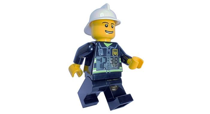 Развитие и школа , Часы Clic Time Будильник Lego City минифигура Fireman арт: 237163 -  Часы