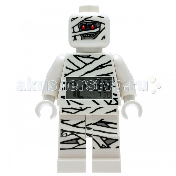 Развитие и школа , Часы Clic Time Будильник LEGO Monster Fighters минифигура Mummy (Мумия) арт: 237166 -  Часы