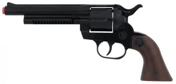 Игрушечное оружие Gonher Игрушечное оружие Ковбойский револьвер на 12 пистонов игрушечное оружие gonher игрушка розовый пистолет 180 2f