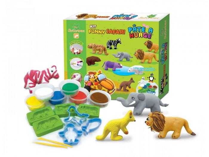 Всё для лепки Angel Clay Игровой набор массы для лепки Funny Safari clay craft