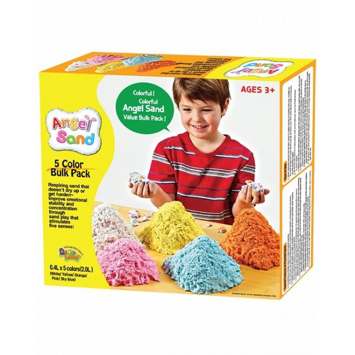 Творчество и хобби , Всё для лепки Angel Sand Набор песка для игры и творчества 5-Color Pack на русском языке арт: 237346 -  Всё для лепки