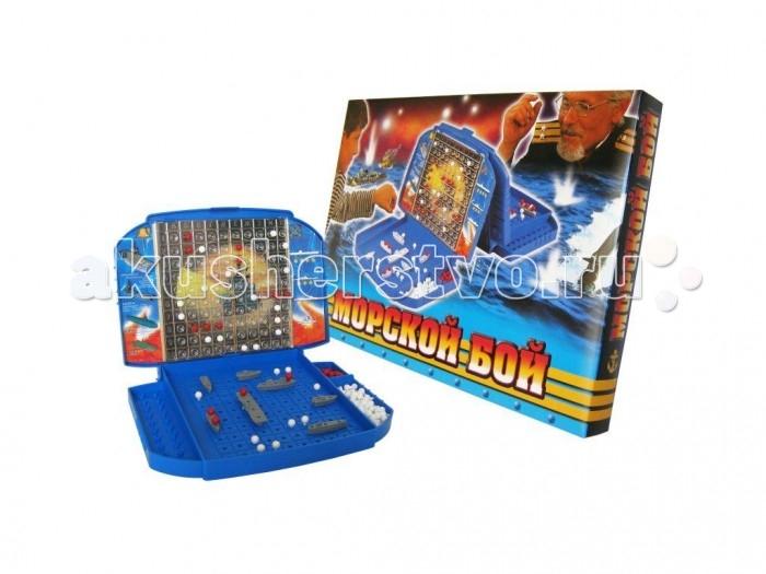 Настольные игры Биплант Игра Морской бой 10021 игрушка морской бой киев купить