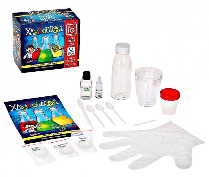 Наборы для творчества Каррас Набор увлекательных экспериментов Хамелеон X024 набор для творчества каррас набор для плетения из лозы к004