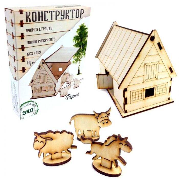 Конструкторы Model Toys Деревянный Ферма Dom 5 головоломки toys lab деревянный лабиринт веселая ферма